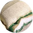 Zoom sur laine de matelas