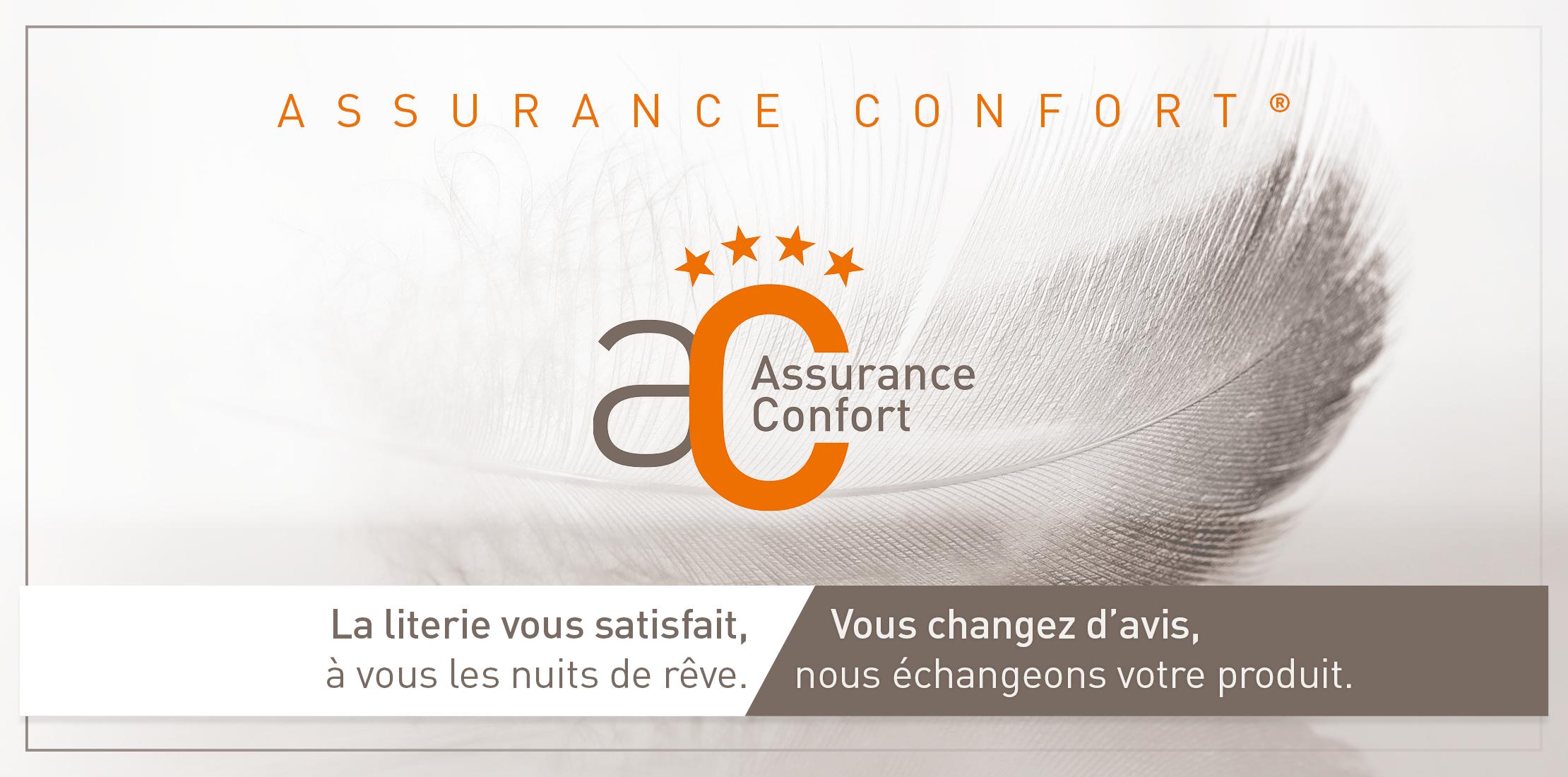 L'Assurance Confort Grand Litier®. La literie vous satisfait, à vous les nuits de rêve. Vous changez d'avis, nous échangeons votre produit.