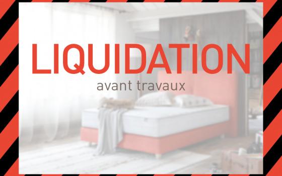 Liquidation avant travaux dans votre magasin Grand Litier à Lille