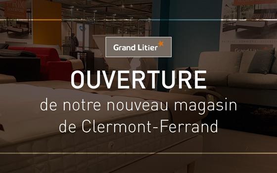 Nouvelle ouverture Grand Litier à Aubière (63)
