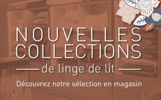 Découvrez notre nouvelle collection de Linge !