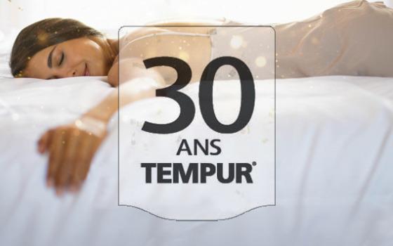 Les 30 ans Tempur