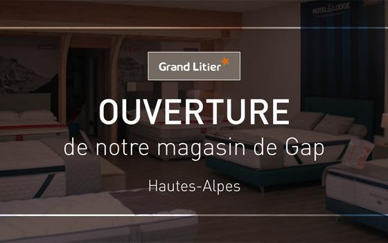 Nouvelle ouverture Grand Litier à Gap (05)