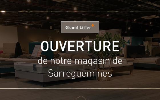 Nouvelle ouverture Grand Litier à Sarreguemines (57)