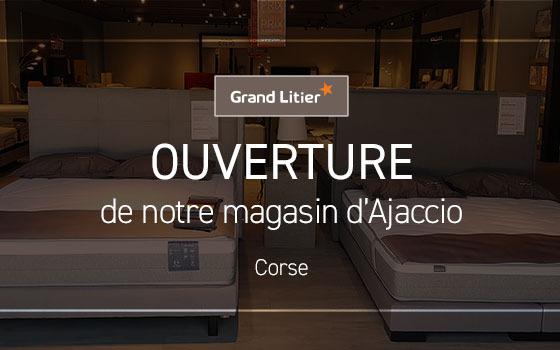 Nouvelle ouverture Grand Litier à Ajaccio (2A)